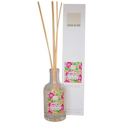 Image of Cole & Co Tea Rose and Peony Diffuser, 200ml