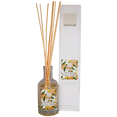 Image of Cole & Co Jasmine and Ylang Ylang Diffuser, 200ml