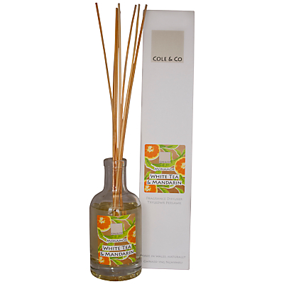 Image of Cole & Co White Tea and Mandarin Diffuser, 200ml