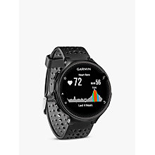 Buy Garmin Forerunner 235 with Wrist-based Heart Rate Technology, Black/Grey Online at johnlewis.com