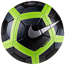 Buy Nike CR7 Prestige Football, Black/Volt Online at johnlewis.com