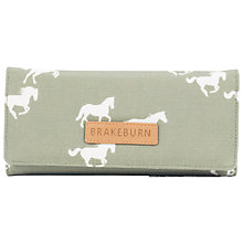 Buy Brakeburn Horses Fold Over Purse, Green Online at johnlewis.com