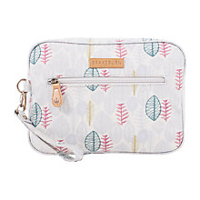 Buy Brakeburn Sketchy Leaves Large Wash Bag, Grey Online at johnlewis.com