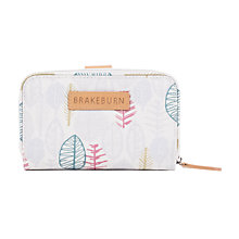 Buy Brakeburn Sketchy Leaves Wallet, Grey Online at johnlewis.com