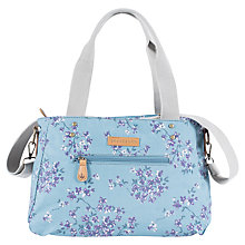 Buy Brakeburn Blossom Large Canvas Shoulder Bag, Teal Online at johnlewis.com
