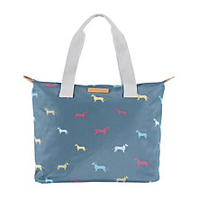 Buy Brakeburn Sausage Dog Shopper Bag, Blue Online at johnlewis.com