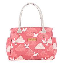 Buy Brakeburn Cranes Day Bag, Coral Online at johnlewis.com