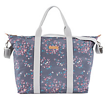 Buy Brakeburn Blossom Overnight Holdall Tote Bag, Black Online at johnlewis.com