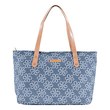 Buy Brakeburn Rope Tote Bag, Blue Online at johnlewis.com