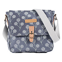 Buy Brakeburn Floral Across Body Bag, Charcoal Online at johnlewis.com