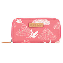 Buy Brakeburn Cranes Purse, Coral Online at johnlewis.com