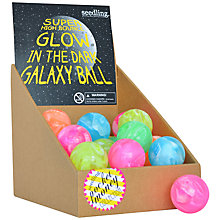 Buy Seedling Glow In The Dark Bouncy Ball, Assorted Colours Online at johnlewis.com