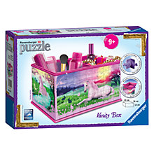 Buy Ravensburger Unicorn Vanity Box 3D Puzzle, 216 Pieces Online at johnlewis.com