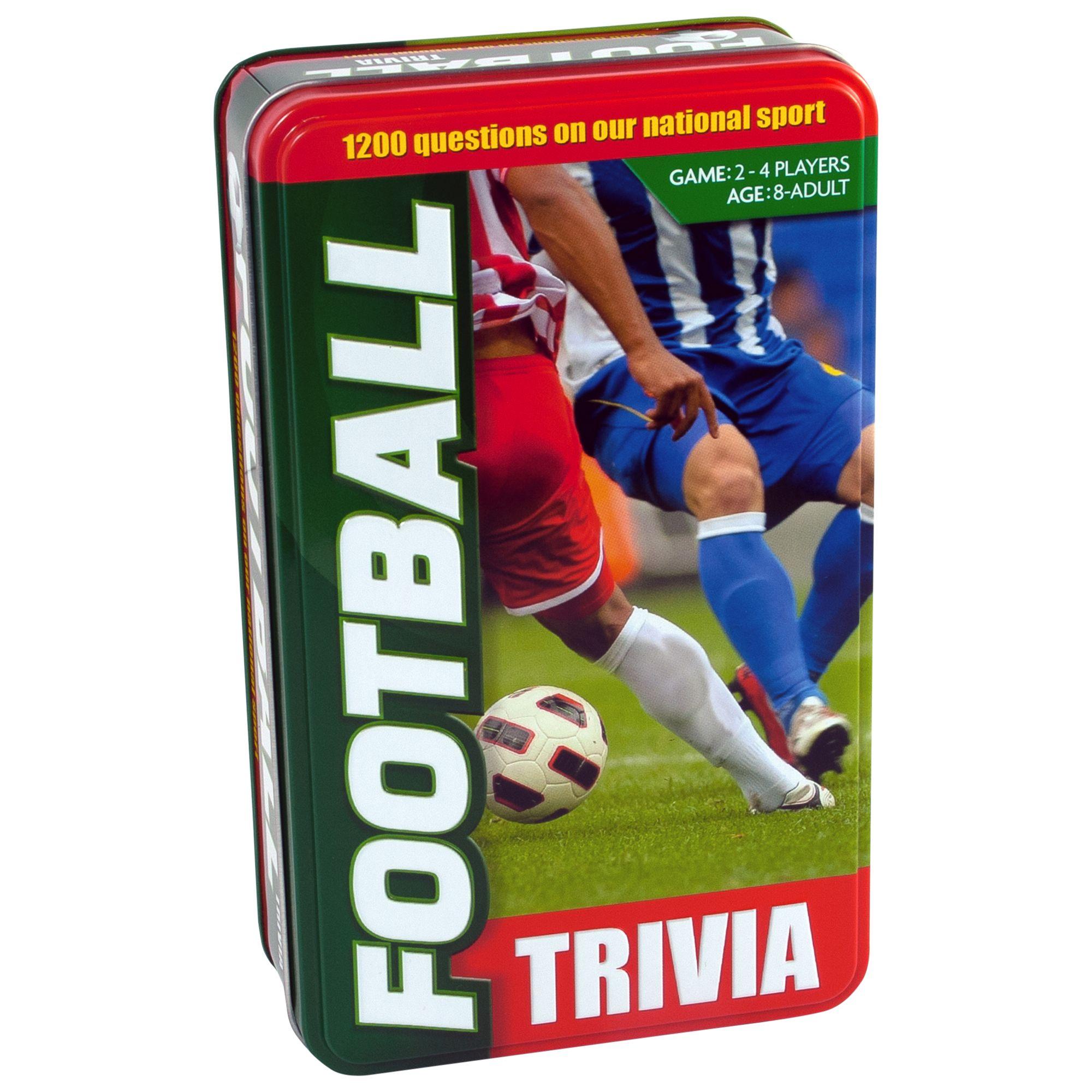 Paul Lamond Games Football Trivia Game