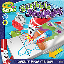 Buy Crayola Games Scribble Scramble Online at johnlewis.com