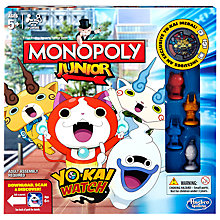 Buy Monopoly Junior Yo-Kai Watch Edition Game Online at johnlewis.com