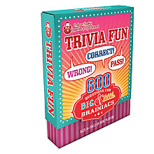 Buy Professor Murphy's Emporium of Entertainment Trivia Fun Quiz Cards Online at johnlewis.com