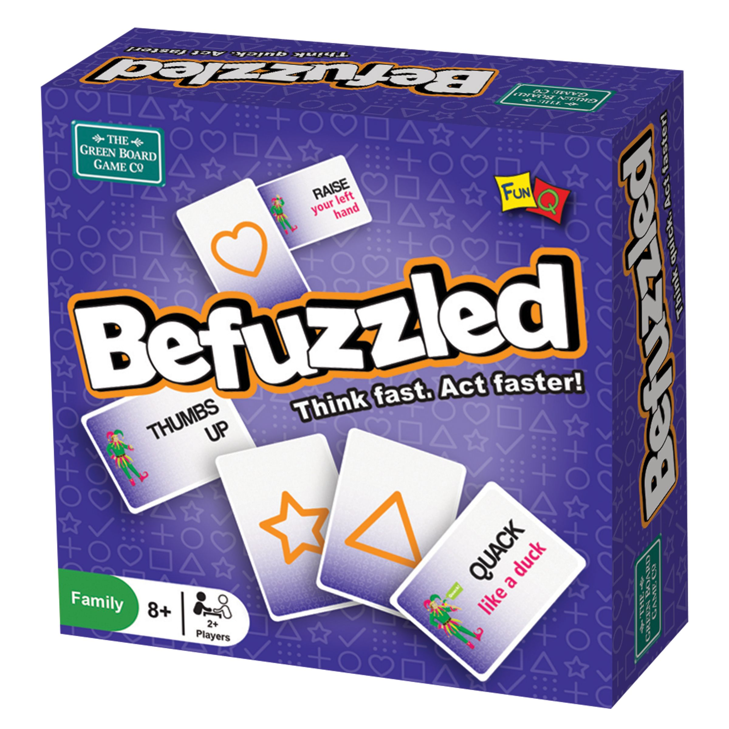 Greenboard Befuzzled Board Game