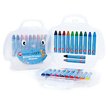 Buy Micador Early Start Beeswax Triangle Crayons Online at johnlewis.com