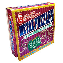Buy Professor Murphy's Emporium of Entertainment Metal Puzzles Box Set Online at johnlewis.com