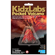 Buy Kidzlabs Pocket Volcano Online at johnlewis.com
