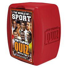 Buy Top Trumps Sport Quiz Online at johnlewis.com