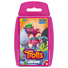 Buy Top Trumps Trolls Online at johnlewis.com