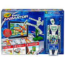 Buy Crayola Easy Animator Online at johnlewis.com