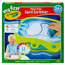 Buy Crayola My First Mess-Free Sand Scribbler Online at johnlewis.com