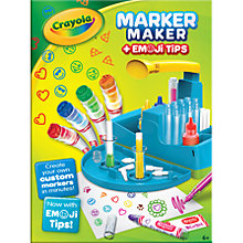 Buy Crayola Marker Maker with Emoji Tips Online at johnlewis.com