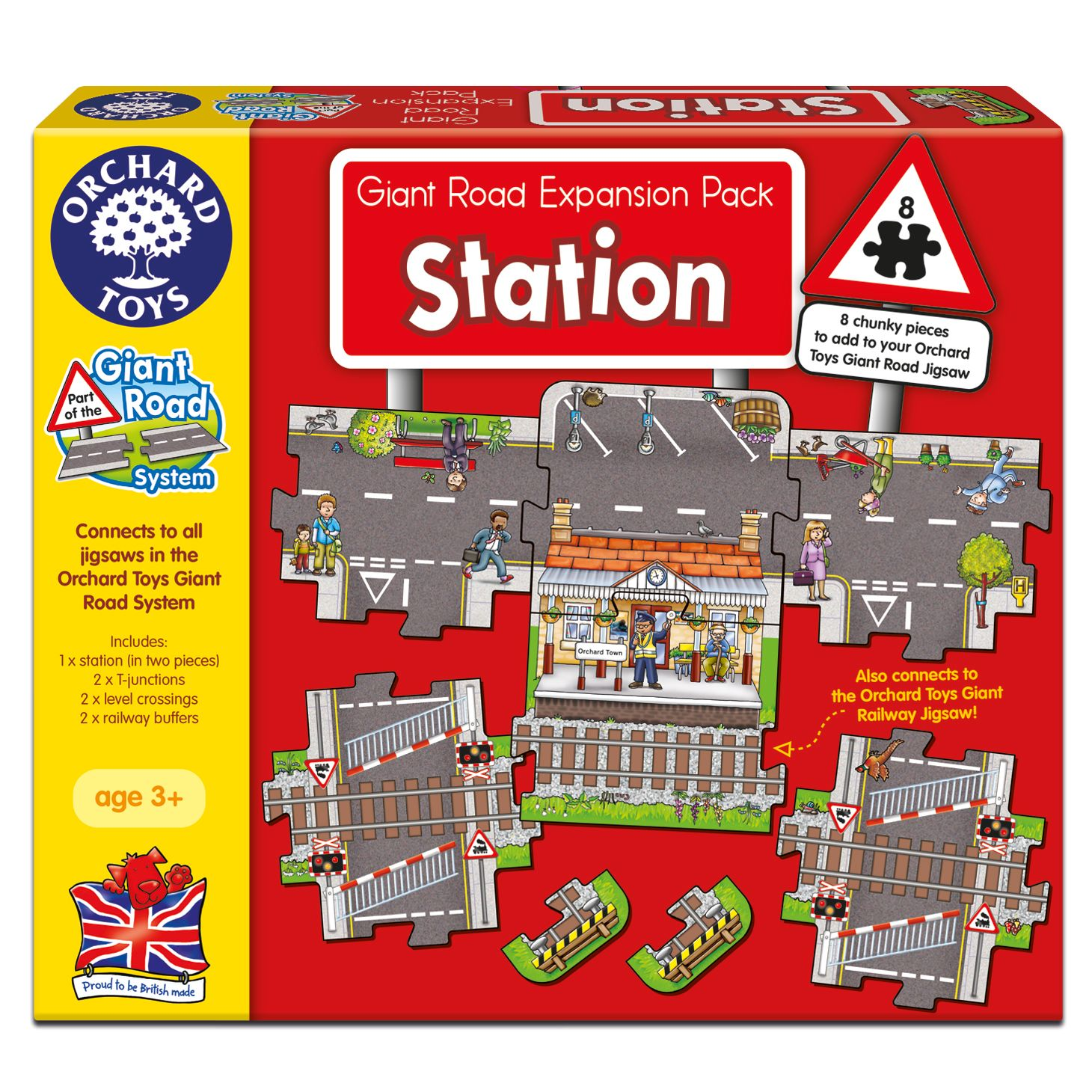 Orchard Toys Orchard Toys Giant Road Stations Expansion Pack
