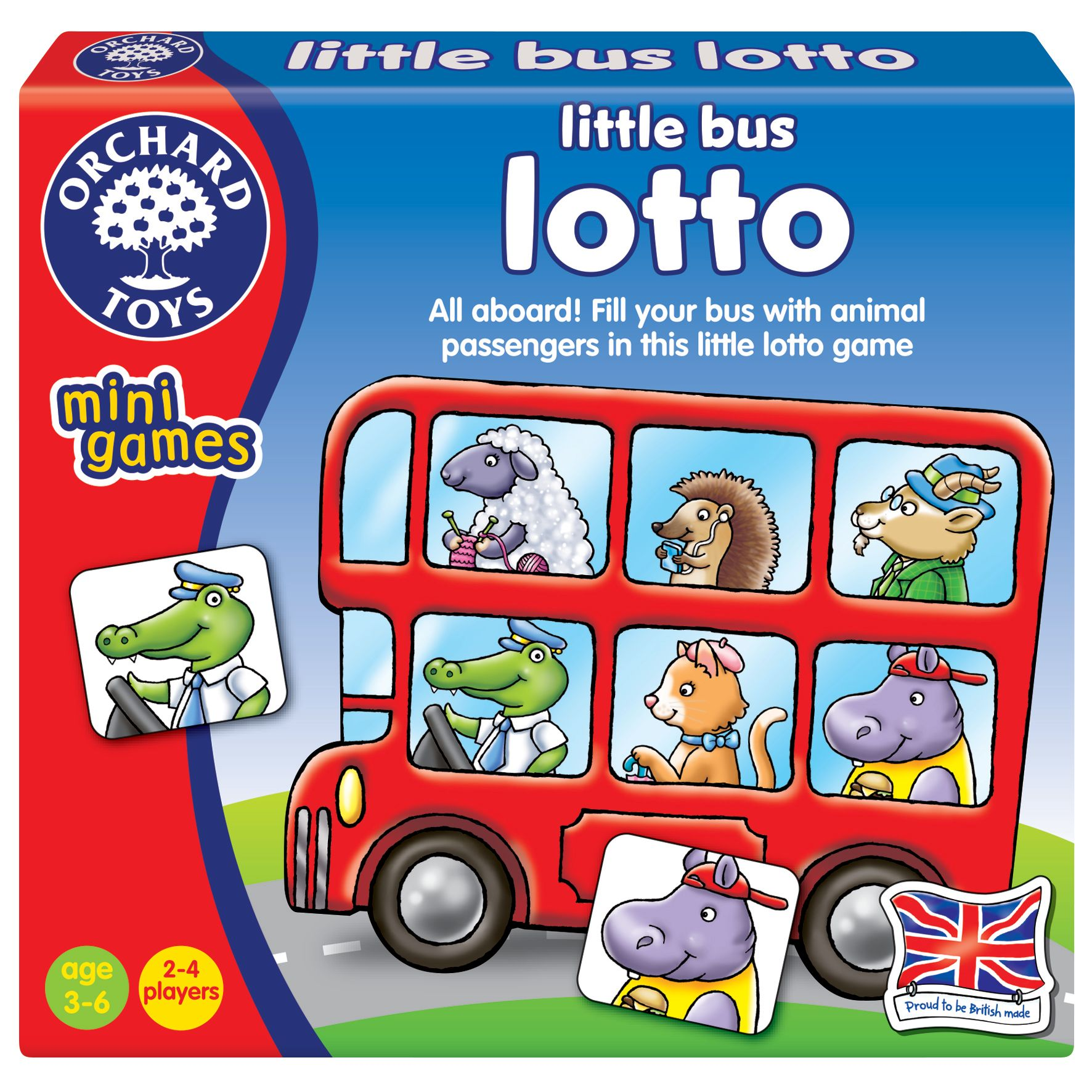 Orchard Toys Orchard Toys Little Bus Lotto Game
