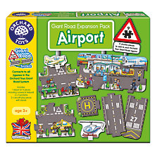 Buy Orchard Toys Giant Road Airport Expansion Pack Online at johnlewis.com