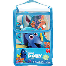 Buy Dory Finding 4 Bath Puzzles Online at johnlewis.com