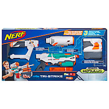 Buy Nerf Modulus Tri-Strike Blaster Online at johnlewis.com