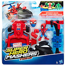 Buy Marvel Super Hero Mashers Micro Spider-Man and Speeder Vehicle Online at johnlewis.com
