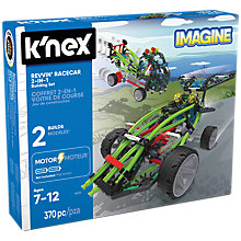 Buy K'Nex Revvin' Racecar 2 In 1 Building Set Online at johnlewis.com
