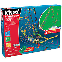 Buy K'Nex Education STEM Explorations Roller Coaster Building Set Online at johnlewis.com