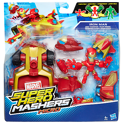 Marvel Super Hero Mashers Sonic Overdriver and Iron Man Figure