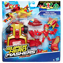 Buy Marvel Super Hero Mashers Sonic Overdriver and Iron Man Figure Online at johnlewis.com
