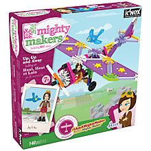 Buy K'Nex Mighty Makers Up Up and Away Building Set Online at johnlewis.com