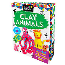 Buy Craft Factory Clay Animals Online at johnlewis.com