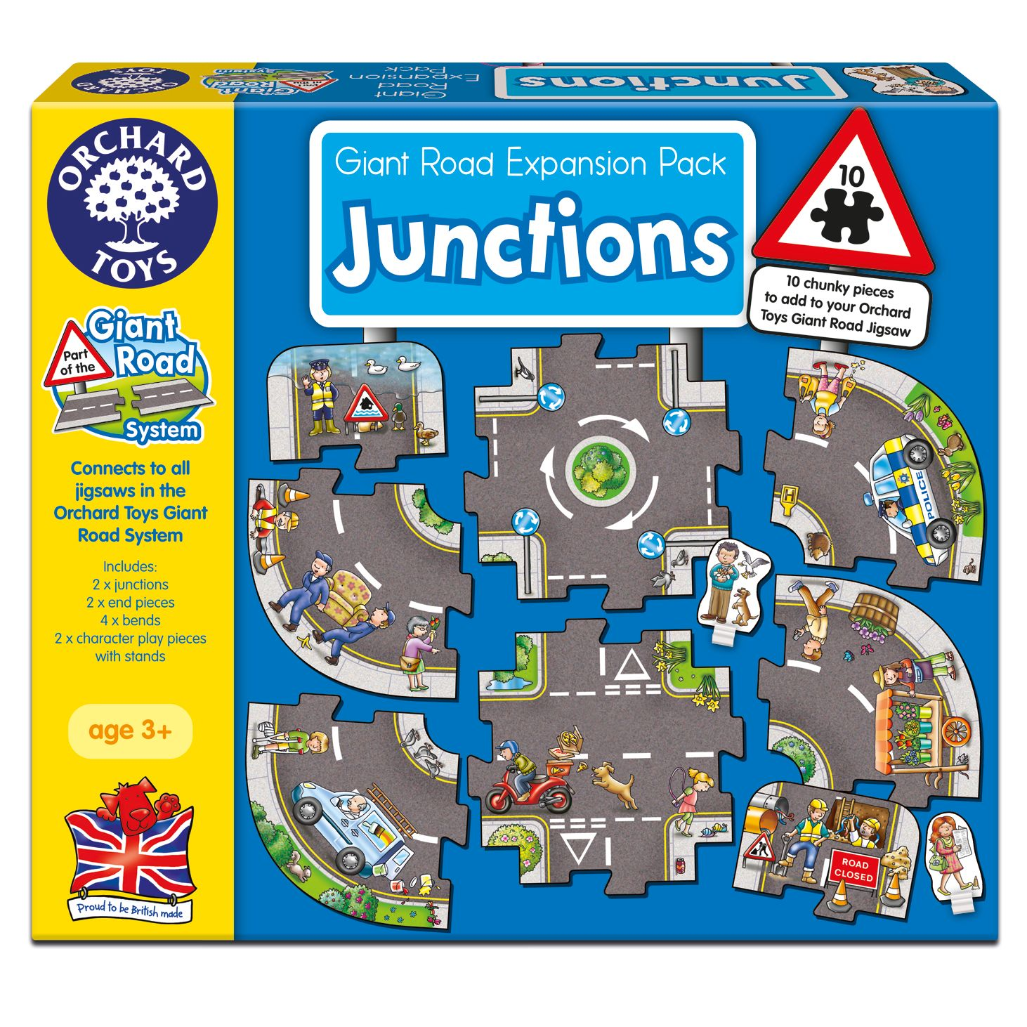 Orchard Toys Orchard Toys Giant Road Junctions Expansion Pack