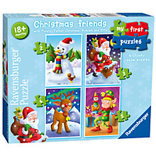 Buy Ravensburger My First Puzzles Christmas Friends Jigsaw Puzzles Online at johnlewis.com