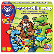 Buy Orchard Toys Crocodile Snap Card Game Online at johnlewis.com