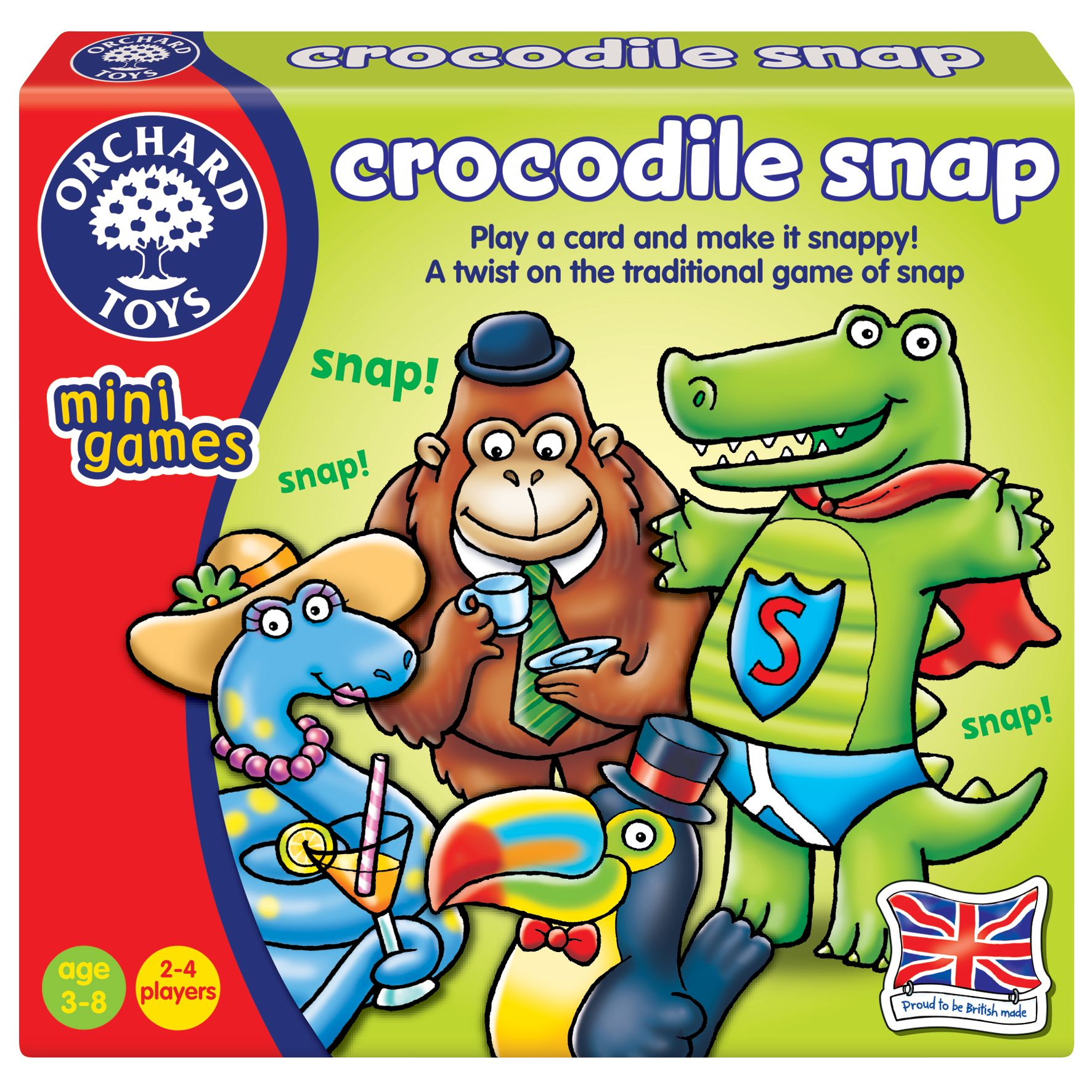 Orchard Toys Orchard Toys Crocodile Snap Card Game
