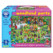 Buy Orchard Toys Woodland Party Floor Puzzle Online at johnlewis.com