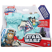 Buy Star Wars Playskool Galaxy Heroes Echo Base Encounter Online at johnlewis.com