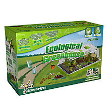 Buy Science4you Ecological Greenhouse Kit Online at johnlewis.com