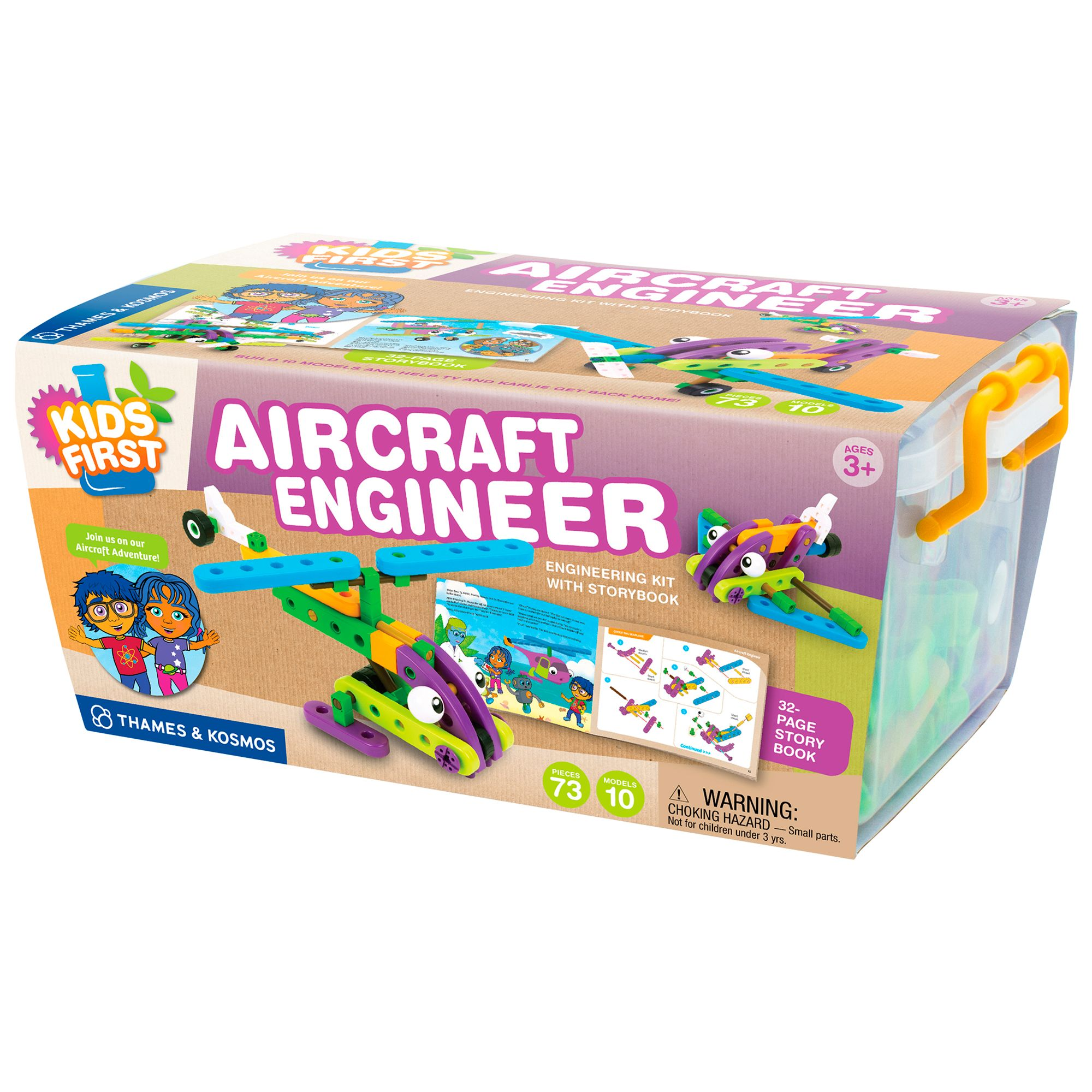 Thames & Kosmos Thames & Kosmos Kids' First Aircraft Engineer Kit With Storybook